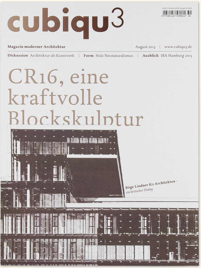 Architektur Magazin architektur magazin cubiqu3 bjoerngrafik björn schumacher