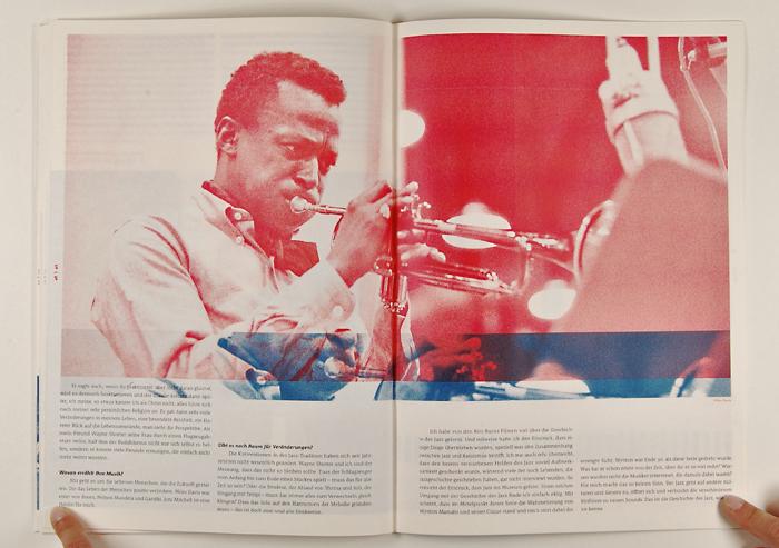 Bachelorarbeit Jazz-Magazin, Herbie Hancock | Kommunikationsdesign, Muthesius Kunsthochschule Kiel