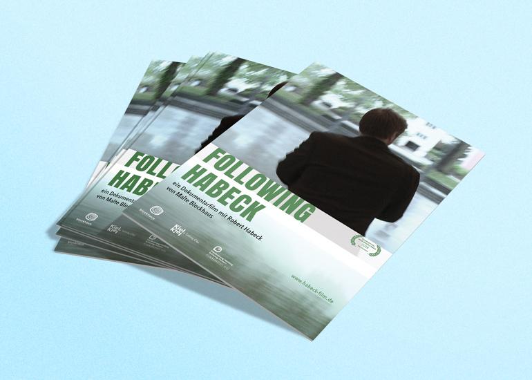 A6 Postkarte Following Habeck | Dokumentarfilm von Malte Blockhaus über Politiker Robert Habeck, Bündnis 90 / Die Grünen